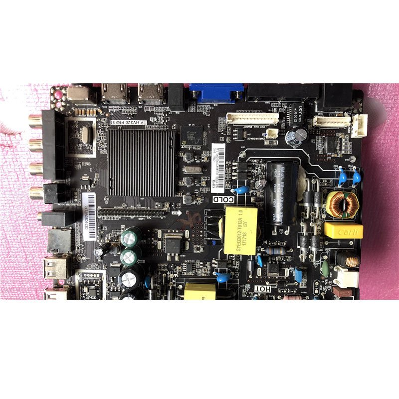 39-Inch Three-in-One Motherboard TP. Hv320.pb801 with Low Split Screen 36v-160v/600mA (75W) - Cakeymall