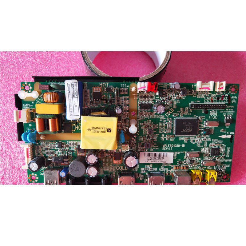 Lehua 32l22 Motherboard MPLE501D50-1B with Screen Lvw320ssdn - Cakeymall