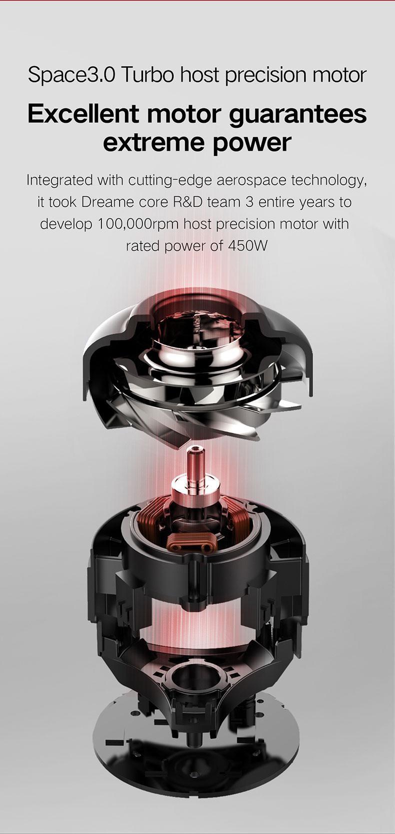 Dreame V10 Plus (Dreame XR)Vorwärtsschnurloser Staubsauger