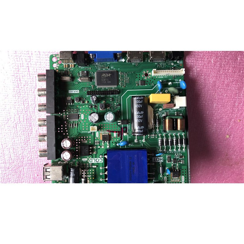 Unicom 43d06-l Motherboard Skr.801 with LG Screen 6870c-0532a - Cakeymall