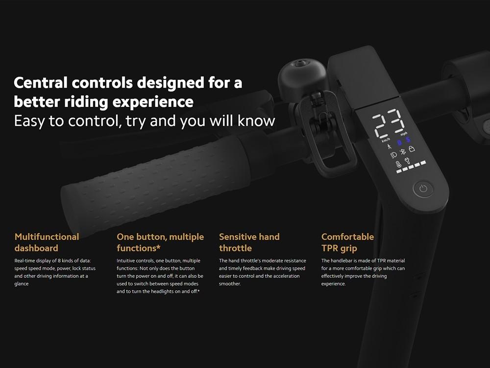 Xiaomi Mi Elektroroller 1S-Versão Globale