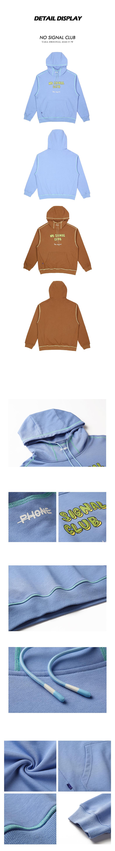 taka original 20aw no signal club long sleeves unisex cotton hoodie for teen