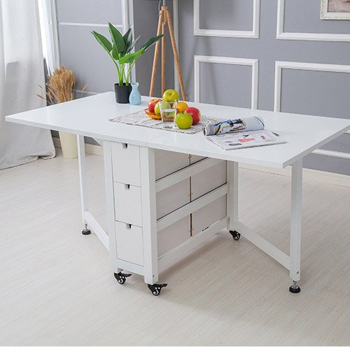 Multifunctional Folding Solid Wood Table And Chair
