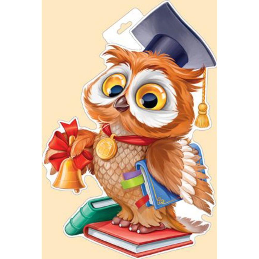 рисунок на день учителя с совой