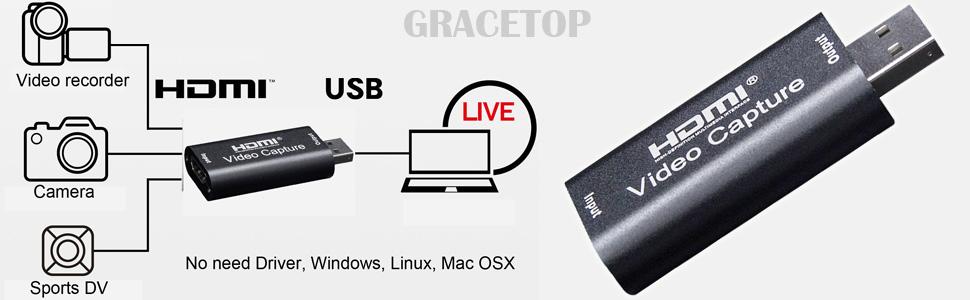 HDMI to USB 2.0/3.0