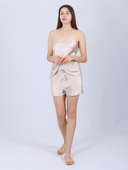 19 Momme Basic Silk Camisole Set | Multi-Colors Selected、REAL SILK LIFE