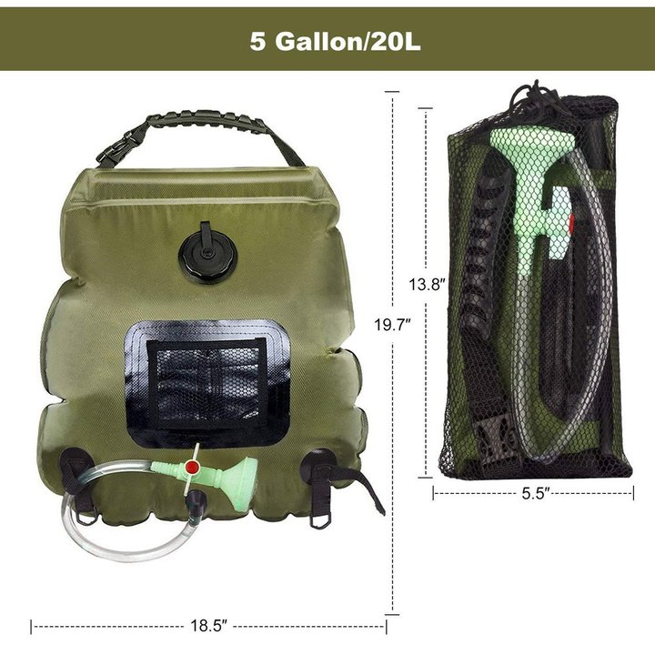 water heaters for camping