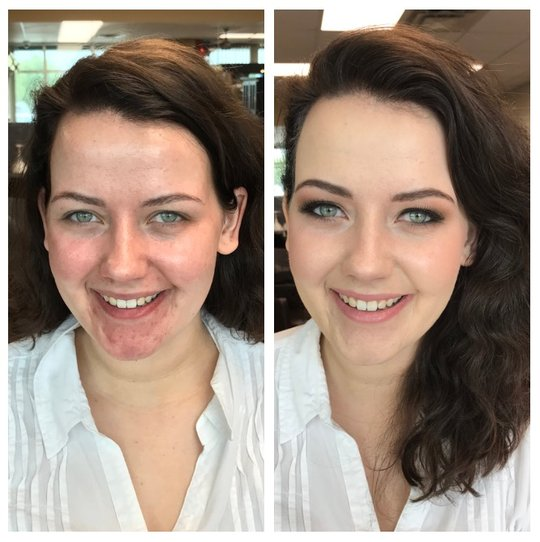 Before & After — Toledo Airbrush Makeup Artists & Hair Stylists | Makeup by  Amy Lewis & Co.