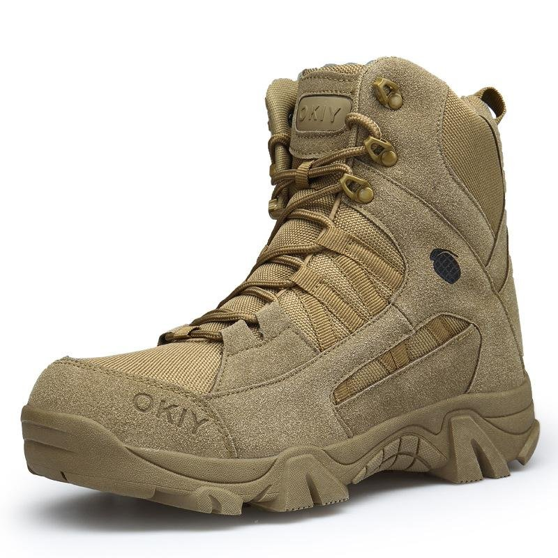 Outdoor high-top training tactical boots / [viawink] /