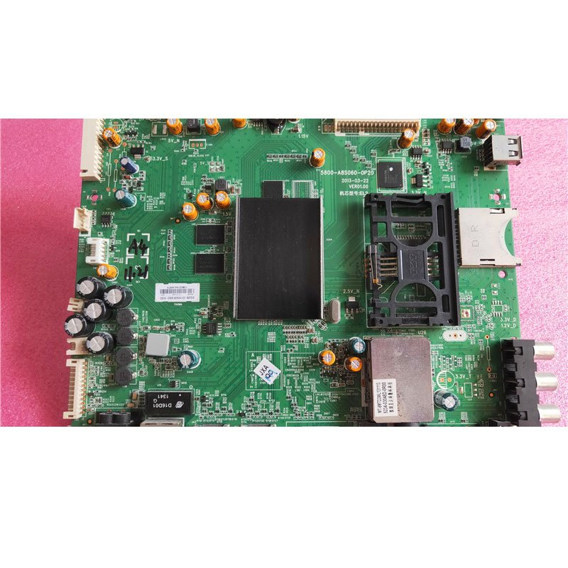 Chuangwei 50e680f Motherboard 5800-a8s060-0p20 with Screen Rel500fy (ADF-100) - Cakeymall