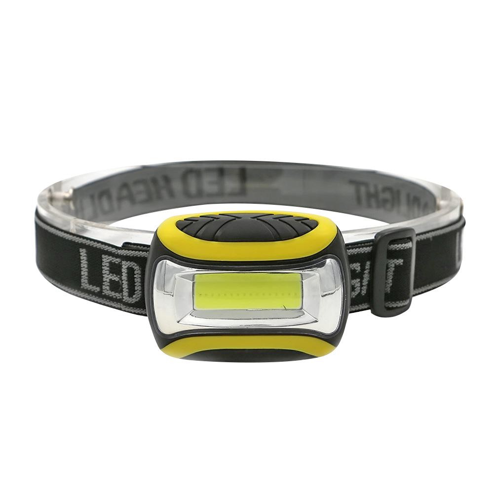3 Modes Waterproof Outdoor Camping Headlight Portable Mini COB LED Headlamp, 501 Original  - buy with discount