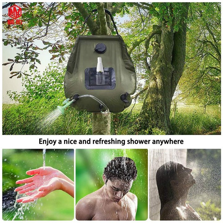 best camp showers