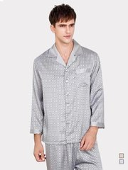 19 Momme Plaid Design Silk Pajamas Set for Men | Two Colors、Real Silk Life