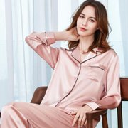 19 Momme Classic Silk Pajamas Set For Couple | Multi-Colors Selected、Real Silk Life