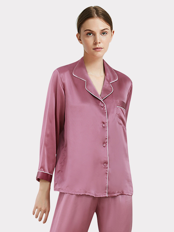 2020 Women's Classic Silk Pajamas、Real Silk Life