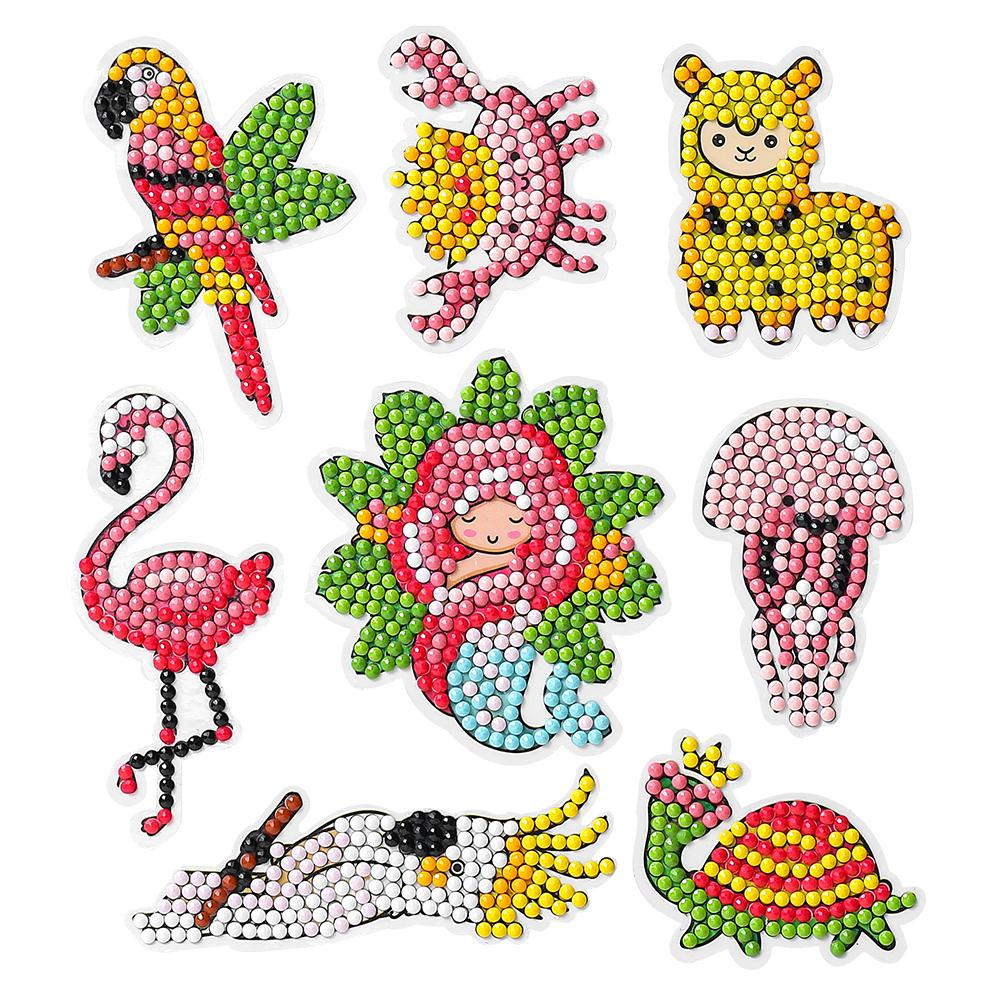 Peggybuy coupon: 8pcs Girl-5D DIY Craft Sticker