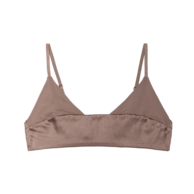 Seamless French Bralette、Real Silk Life