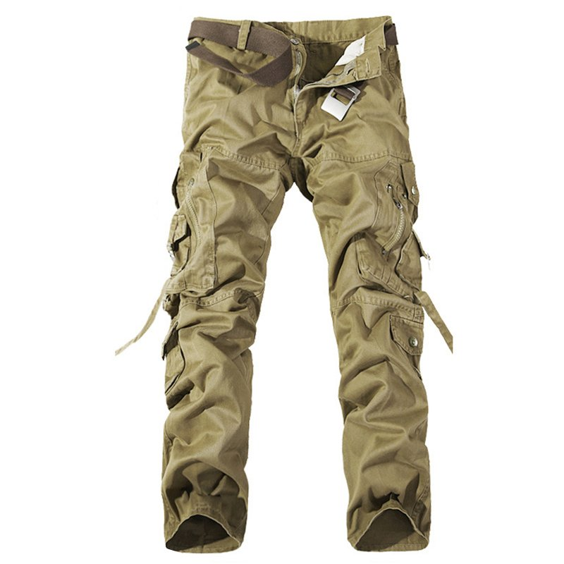 Mens outdoor multi-pocket casual sports pants / [viawink] /