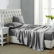 19 Momme Silk Sheets Set | 4pcs、Real Silk Life
