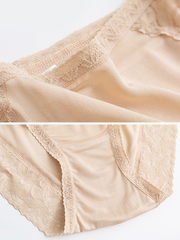 Pretty Panty With Lace Trim 5 Pack、Real Silk Life