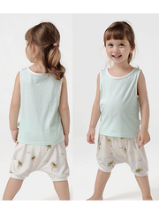 55% Mulberry Silk Cute Silk Pants For Kids、REAL SILK LIFE