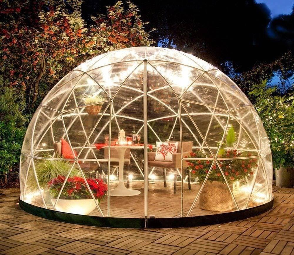 Garden tent Garden Dome Igloo 12 Ft Stylish Conservatory | Etsy