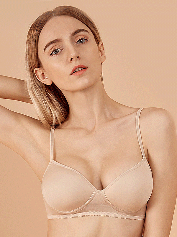 Silk Cute Seamless Bralette (Multi-Color Selected)、Real Silk Life