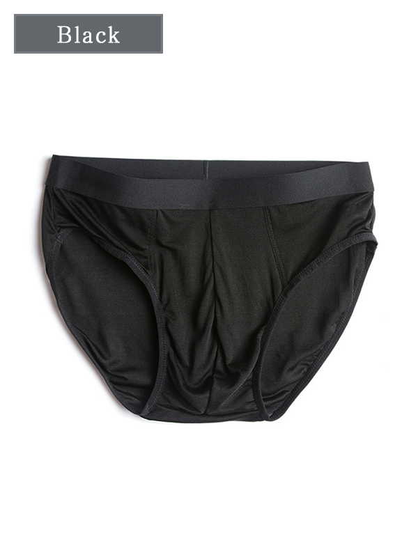 Loosen Silk Brief For Men 5 Pack、Real Silk Life