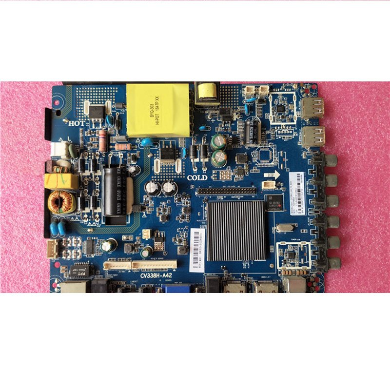 Network 42-65 Mainboard CV338H-A42 Screen Adjustable Remote Control 65-100v/480ma(45W) - Cakeymall