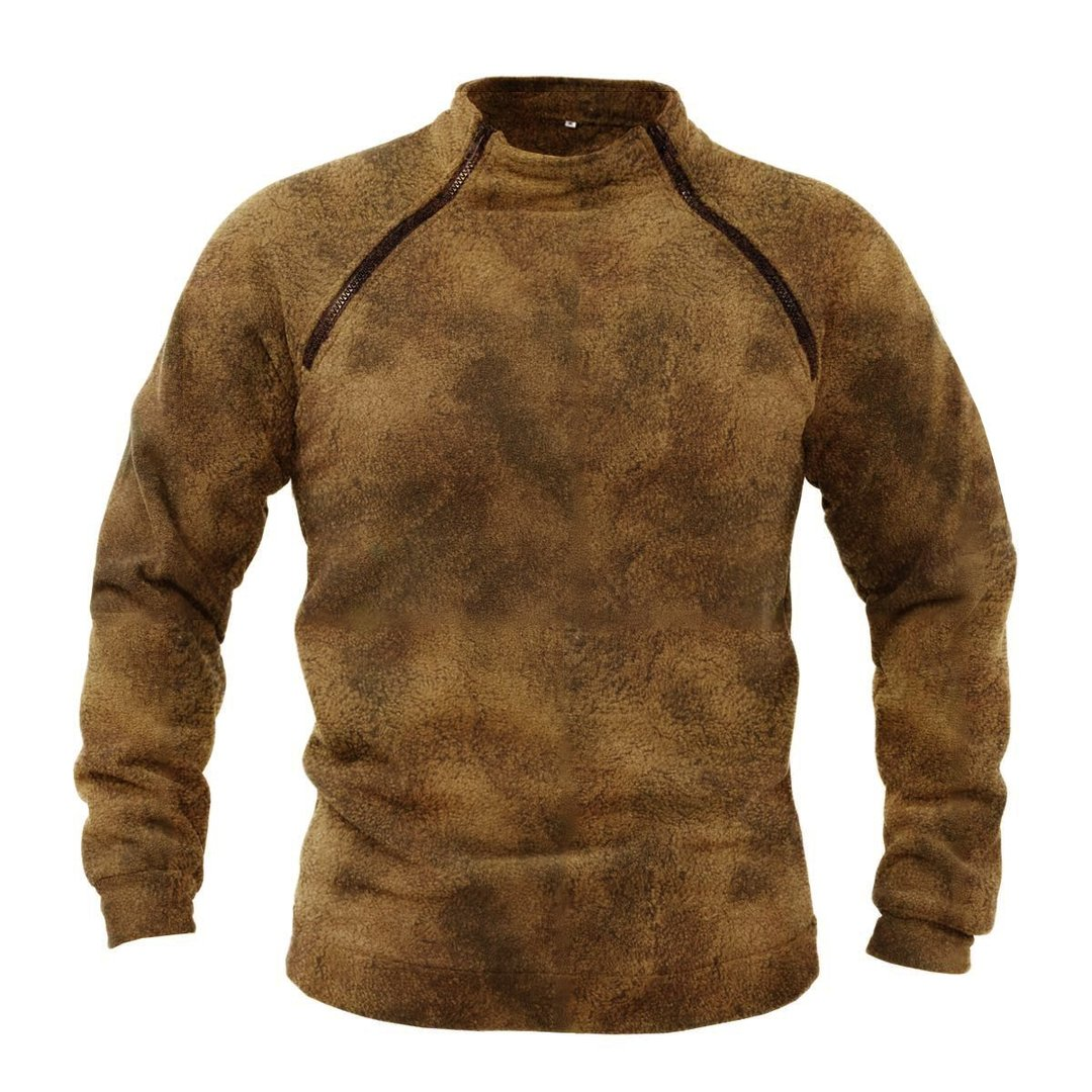 Mens Outdoor Windproof And Warm Tactical Sweater / [viawink] /