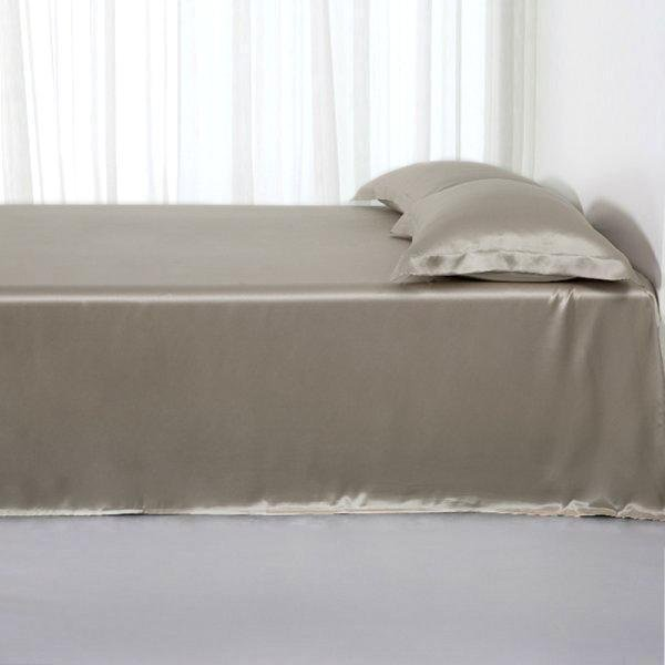 19 Momme Silk Flat Sheets、Real Silk Life