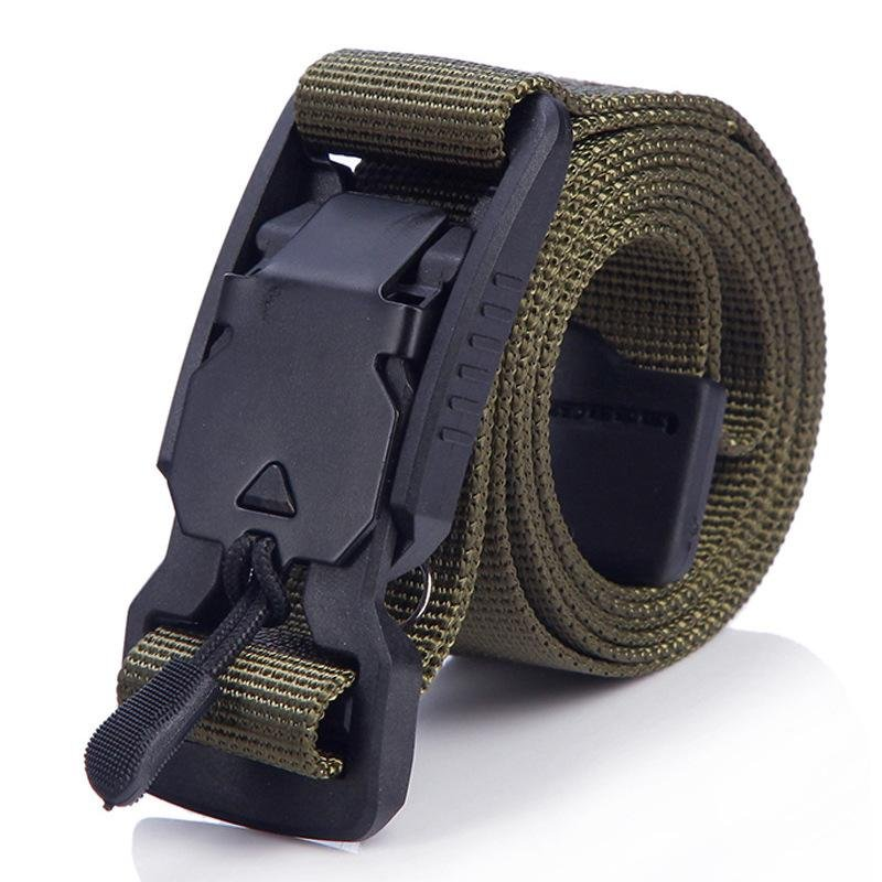 Outdoor Multifunctional Canvas Tactical Belt / [viawink] /