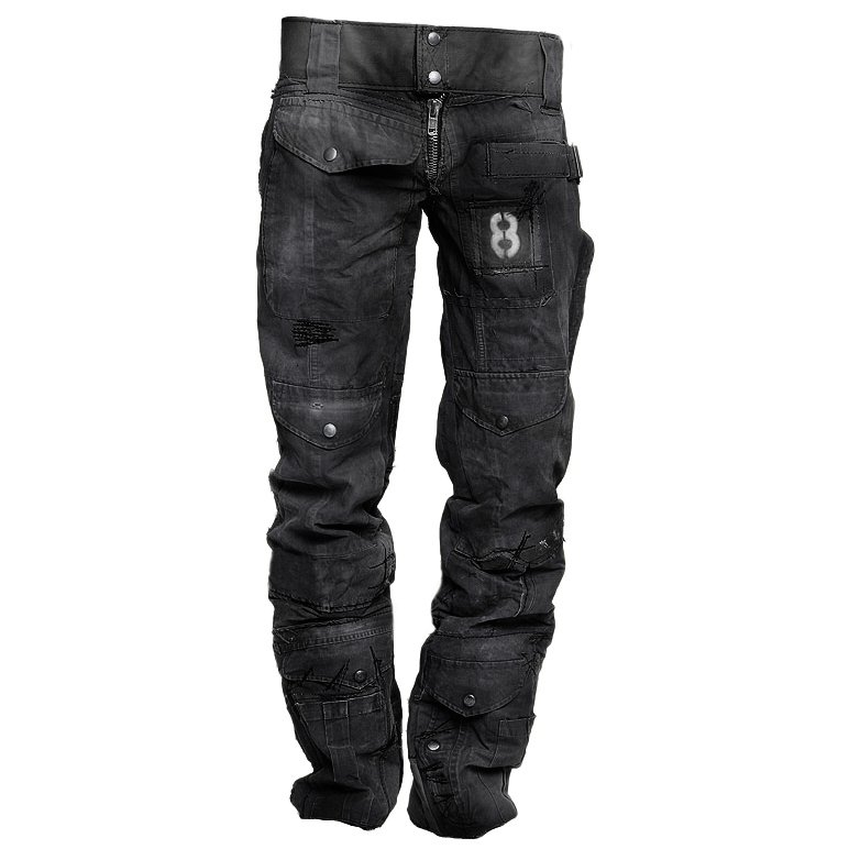 Mens Outdoor Wear-resistant Military Trousers / [viawink] /