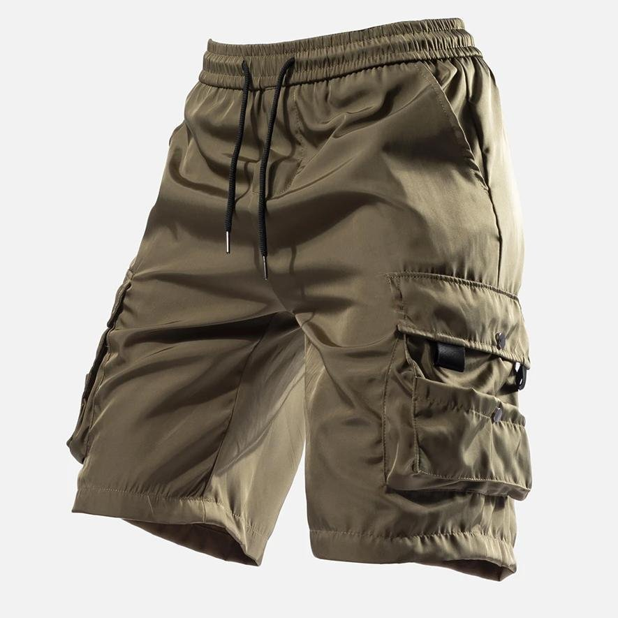 Mens Outdoor Sports Waist Drawstring Quick-Drying Shorts / [viawink] /