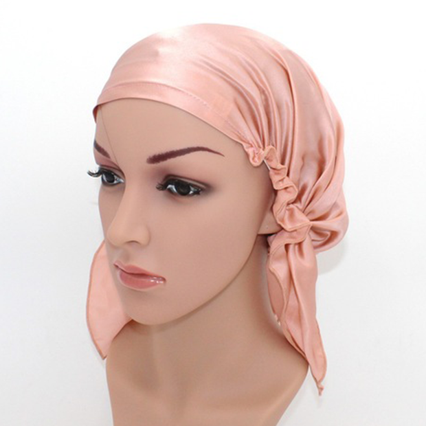 19 Momme Classic Silk Sleep Cap、REAL SILK LIFE