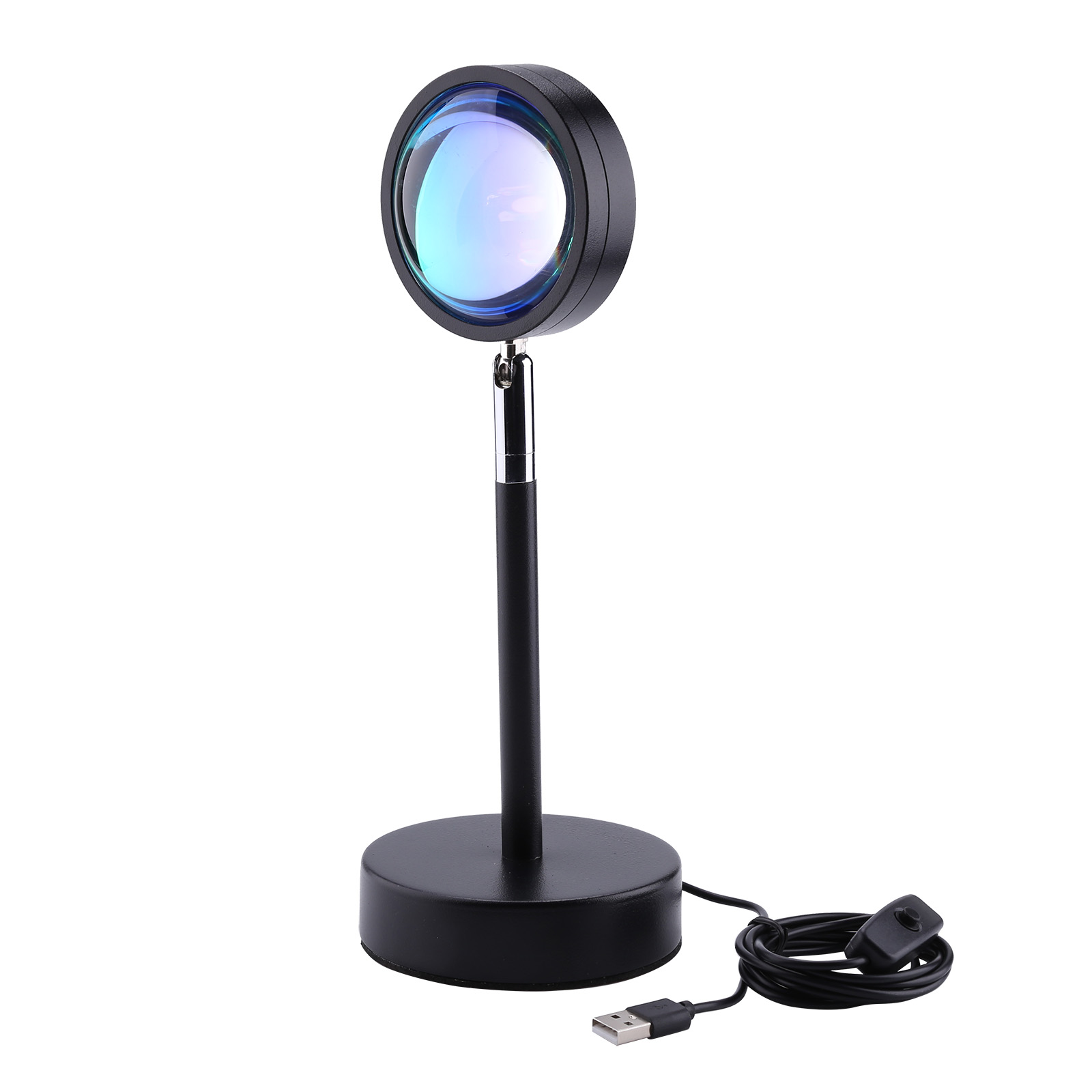 LED Projection Light, Sunset Rainbow Floor Stand Night Lamp, for Bedroom, 501 Original, Cesdeals, Rainbow.  - buy with discount