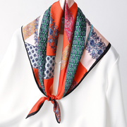 19 Momme Luxurious Printed Silk Scarves、REAL SILK LIFE