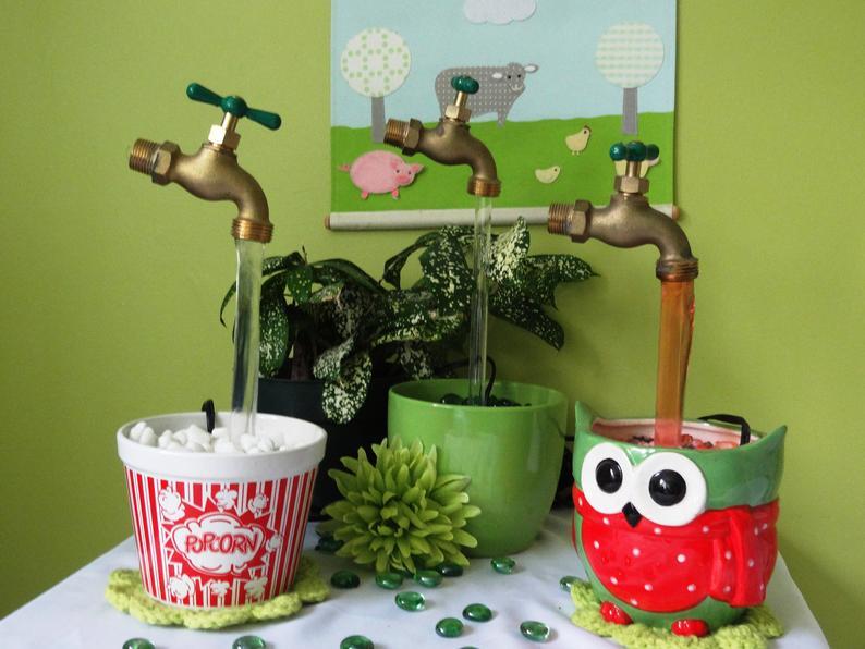 3 套件 泡沫水龙头 喷泉套件 DIY 制作您自己的形象 0