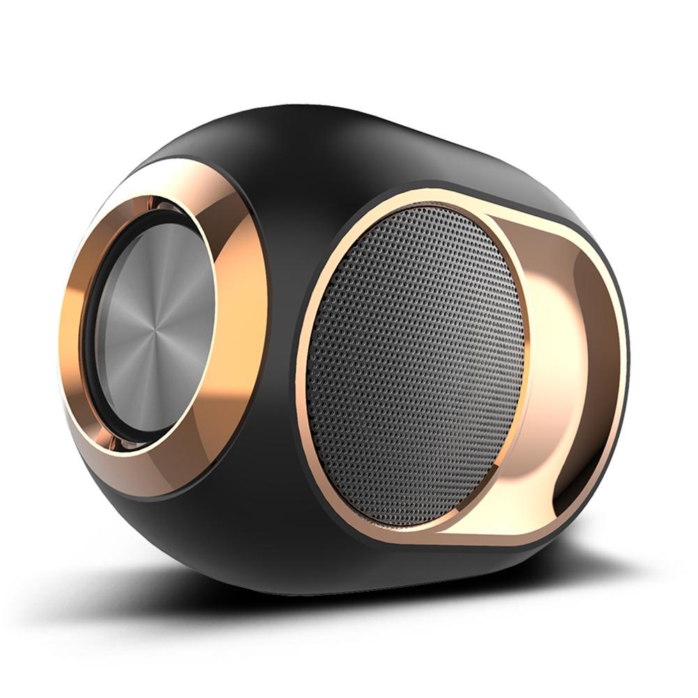X6 Bluetooth Speaker Portable TWS BassSpeaker TF USB AUX FM Built-in Mic
