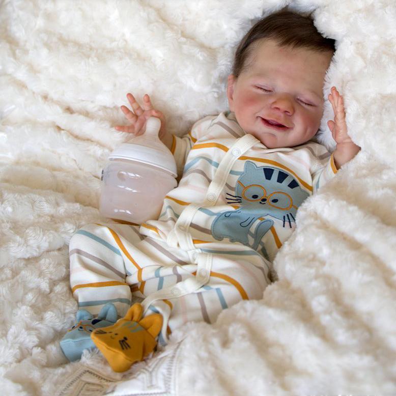 20'' Little David Reborn Baby Doll Boy
