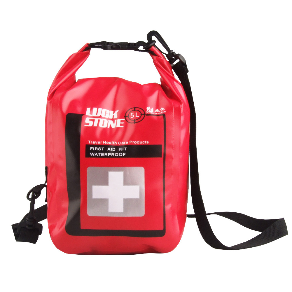 Outdoor First Aid Kit Bag Waterproof Medical Emergency Pouch for Adventure, 501 Original
