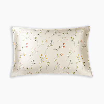 Spring Buds Single Side Silk Pillowcase、Luxury Silk Life