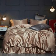 25 Momme Silk Duvet Cover Set | 4pcs、Real Silk Life