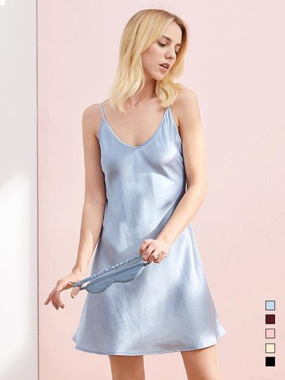 19 Momme Chic Silk Nightgown | Multi-Colors Selected、REAL SILK LIFE
