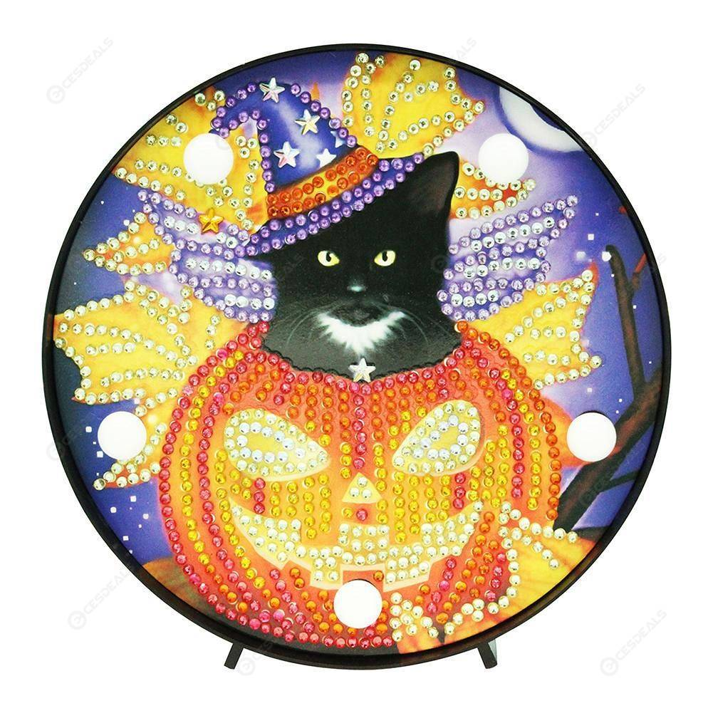 Peggybuy coupon: Halloween-DIY Creative Diamond LED Lamp