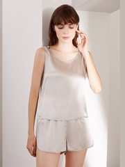 19 Momme Classic Lifestyle Camisole Set、Real Silk Life