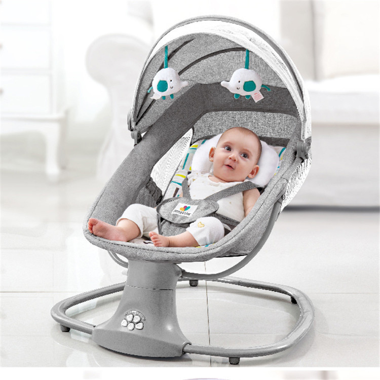 Newborns Sleeping Cradle Bed Child comfort chair reclining chair Chair Baby Electric Rocking Chair for baby 0-3 years old