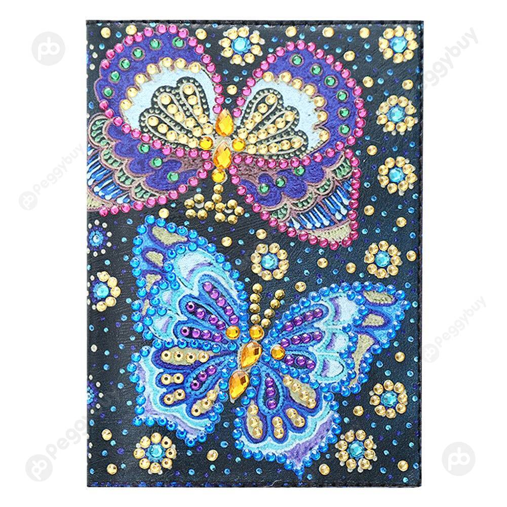 Peggybuy coupon: Butterfly Passport Cover-DIY Creative Diamond Travel Storage