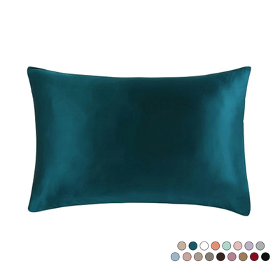 19 Momme Both Sides In Mulberry Silk Pillowcase | Sheets Matching Colors | Hidden Zipper Closure、REAL SILK LIFE