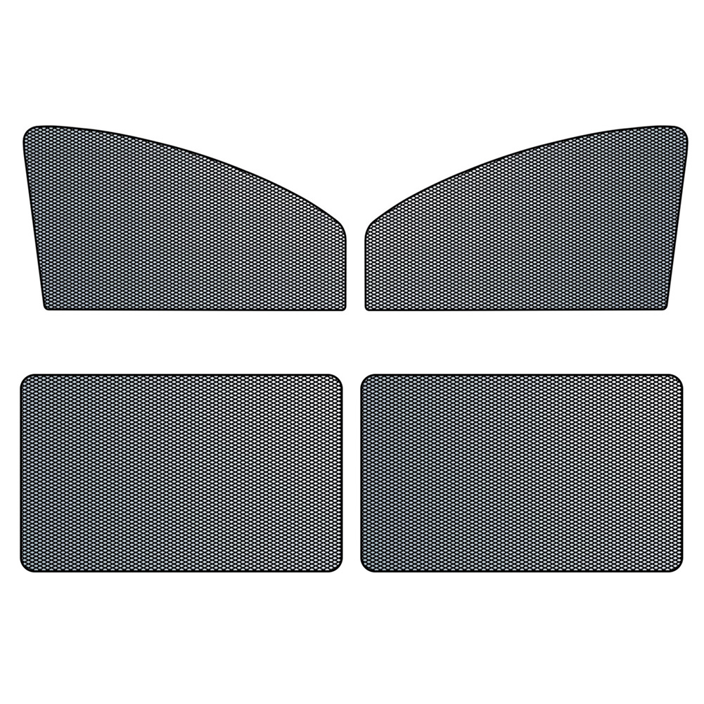 Car Side Window Sun Shade Magnetic Sunshades 10 Magnets Mesh Curtain, 501 Original, Rear*2  - buy with discount